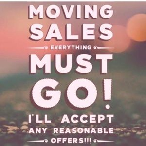 Other - MOVING SALE